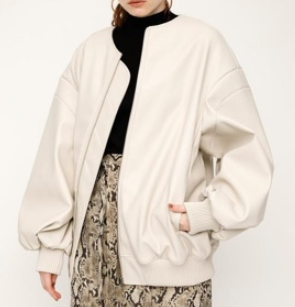 SLY / FAUX LEATHER BZ