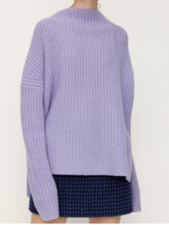 SLY / LAMBS WOOL OVER SIZE TOPS