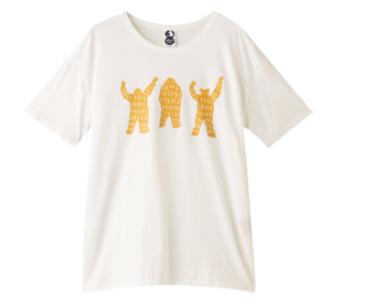 【plainless】ペルヴィアンピマ天竺プリントTシャツ