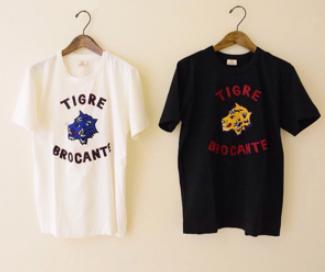 TIGRE BROCANTE Tシャツ