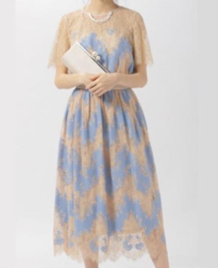 Andemiu(アンデミュウ) シアーレースドレス