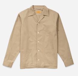 Jefferson Solid Jacket Classic Khaki SATURDAYS NEW YORK CITY