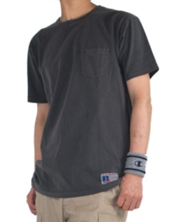 RUSSELL ATHLETIC 半袖Tシャツ グレー