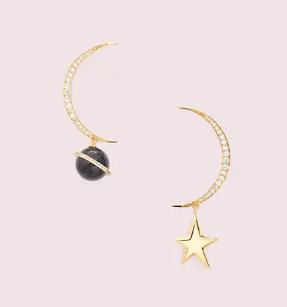 オン ザ ロック アシンメトリカル ピアス on the rocks asymmetrical earrings WBRUH784 974U ND