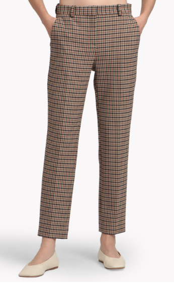 Bistretch Plaid Tailored Trouser J