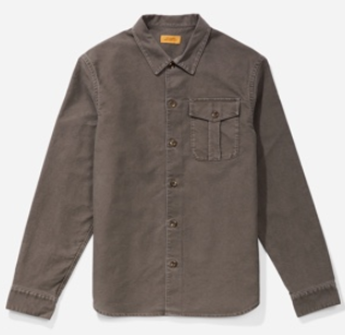 Saturdays NYC Broome Moleskin Long Sleeve Shirt