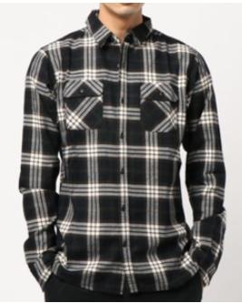 綿ビエラチェックシャツ